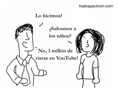 Un millon de views en Youtube