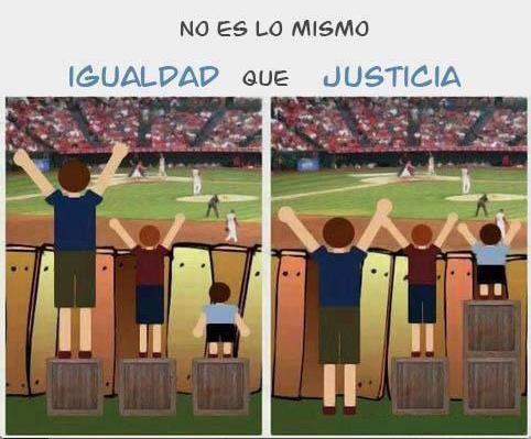 igualdad equidad